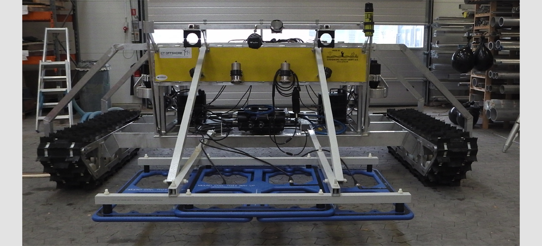 rov - remotely operated vehicle subsea