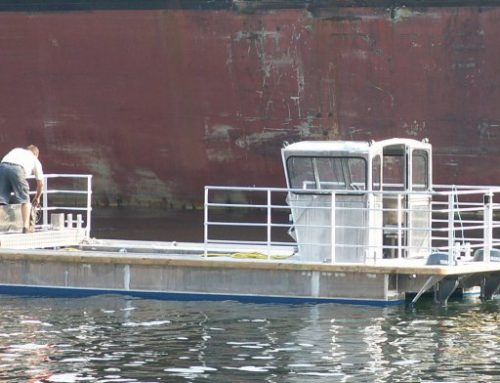 Special Vessel for Waste Collection